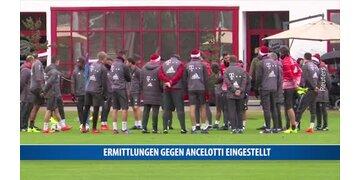 Ermittlungen gegen Ancelotti eingestellt