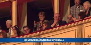 Die großen Künstler am Opernball