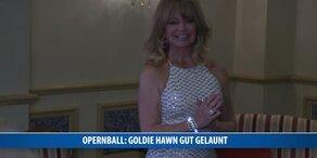Goldie Hawn gut gelaunt