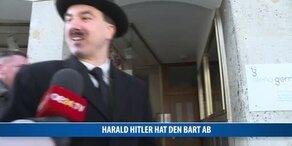 Harald Hitler hat den Bart ab