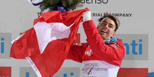 Stefan Kraft ist Weltmeister