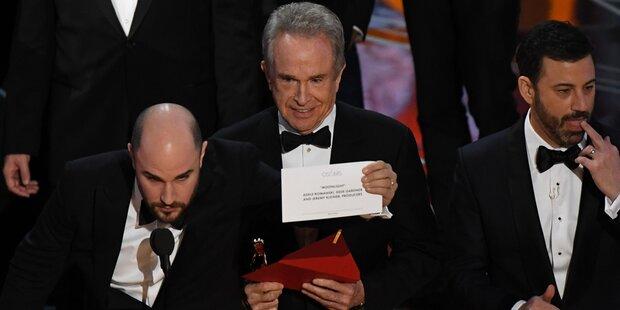 Die größten Oscar-Pannen aller Zeiten