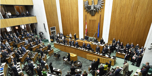Nationalrat Oberhauser Trauerminute