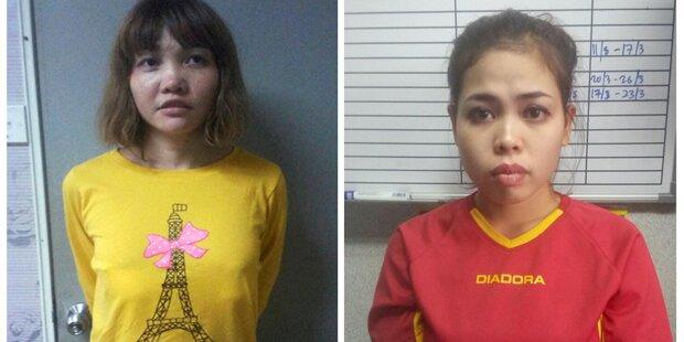 Gift-Mord an Kim Jong-nam: Zwei Frauen angeklagt