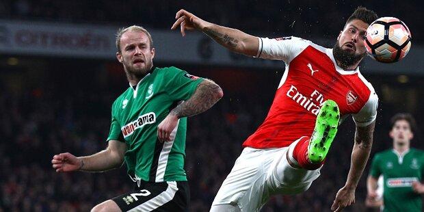 Arsenal beendet Fußball-Märchen