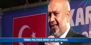 Türkei-Politiker droht Erdogan-Kritikern mitten in Wien