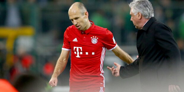 Robben-Eklat bei Bayerns Auswärtssieg
