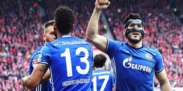 Schalke gewinnt auch dank Burgstaller