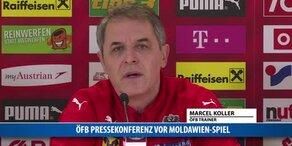 ÖFB Pressekonfernz vor Moldawien-Spiel