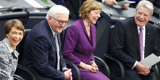 Steinmeier als neuer deutscher Bundespräsident angelobt