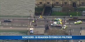 Schießerei: So reagieren Österreichs Politiker
