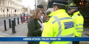 London-Attacke: Polizei trinkt Tee