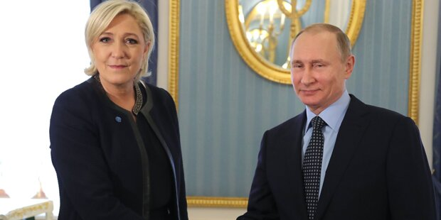 Le Pen: Mega-Fauxpas bei Treffen mit Putin