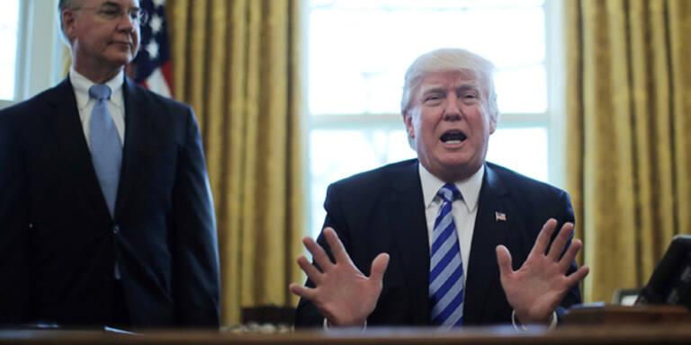 Trump nimmt sich jetzt Handelsbeziehungen vor