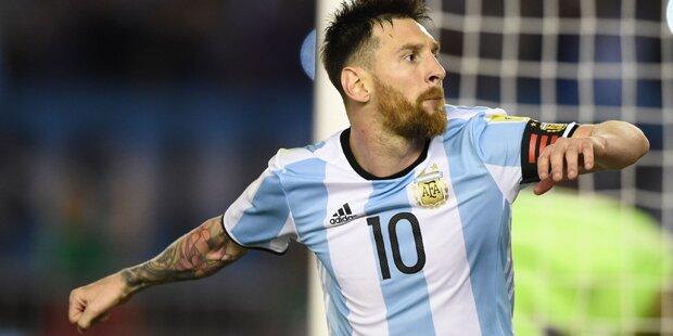 So reagiert Messi auf FIFA-Sperre