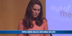 Fotos geben Anlass zur Sorge um Kate