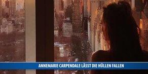 Annemarie Carpendale lässt die Hüllen fallen