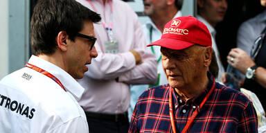 Niki Lauda wettete gegen sein eigenes Team