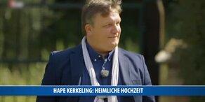 Hape Kerkeling: Heimliche Hochzeit