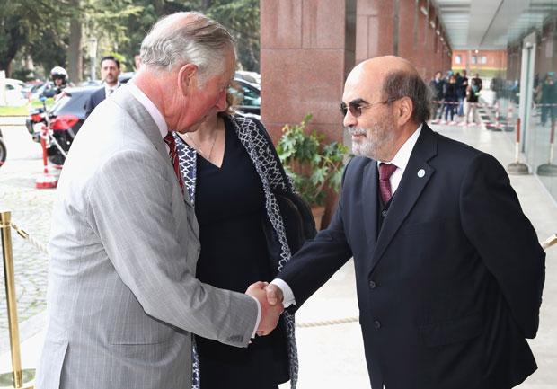 Prinz Charles bei der FAO in Rom