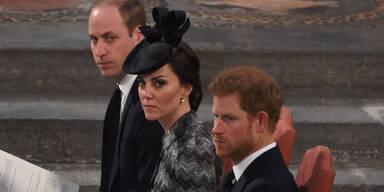 Royals gedenken Londoner Terroropfern