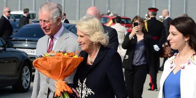 Prinz Charles und Camilla verzaubern Wien