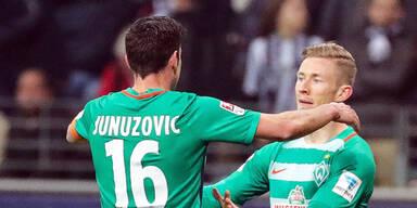 Kainz bekommt Sonderlob nach Frankfurt-Spiel