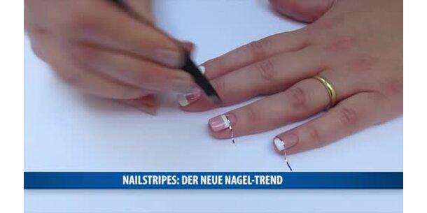 Nailstripes Der Neue Nagel Trend