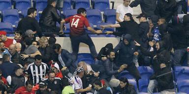 Randale bei Spiel Lyon - Besiktas: Verfahren eröffnet