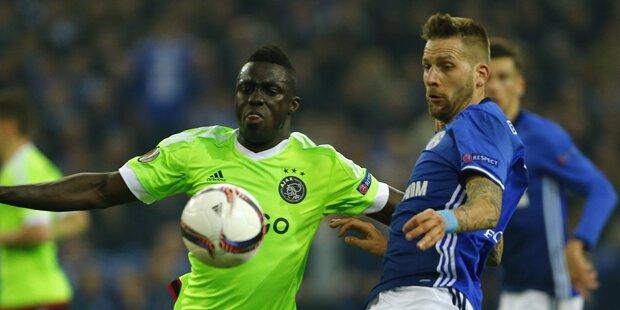 Burgi-Tor zu wenig: Schalke verliert EL-Thriller