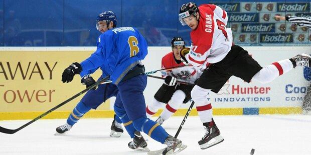 Eishockey: Österreich startet mit Pleite in B-WM