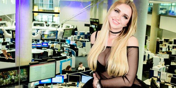 Cathy Lugner zieht im deutschen TV blank