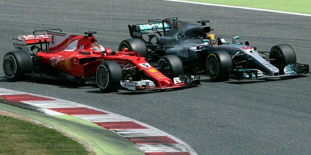 Hamilton gewinnt Spanien Grand Prix