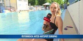 Österreich ist Hitze-Hotspot Europas