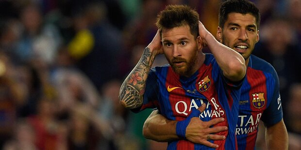 Weltauswahl-Ohrfeige für Lionel Messi