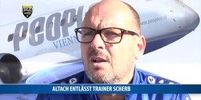 Altach entlässt Trainer Scherb