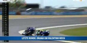 Unfall! Valentino Rossi auf Intensivstation