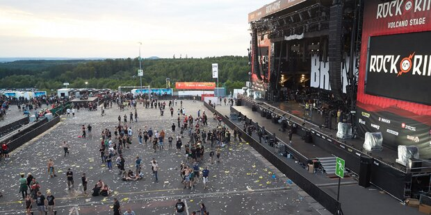 Terror-Alarm bei Rock am Ring