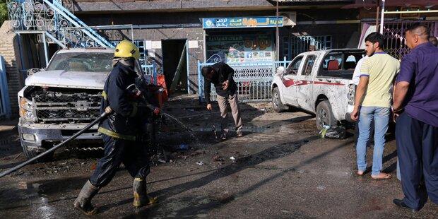 Mindestens 20 Tote nach IS-Anschlag in Kerbala