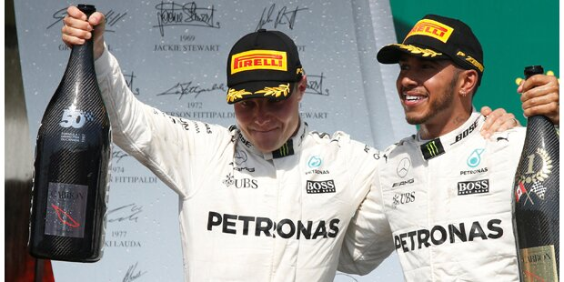 Erneut: Hamilton giftet gegen Rosberg