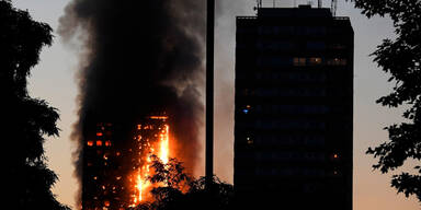 Mehrere Tote nach Hochhausbrand