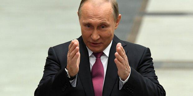 Putin so privat wie nie