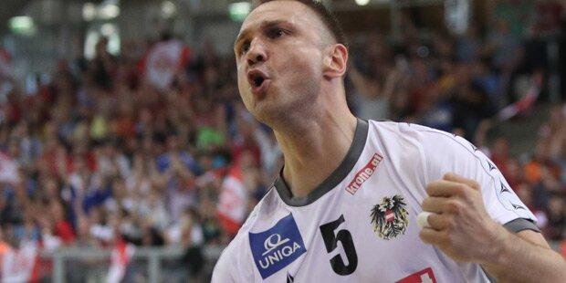 Handball: Österreich löst EM-Ticket