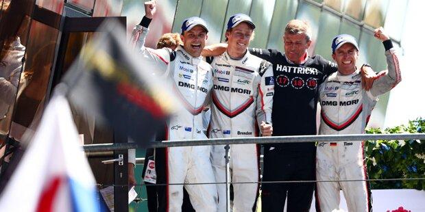 Le Mans: Porsche gewinnt bei Drama