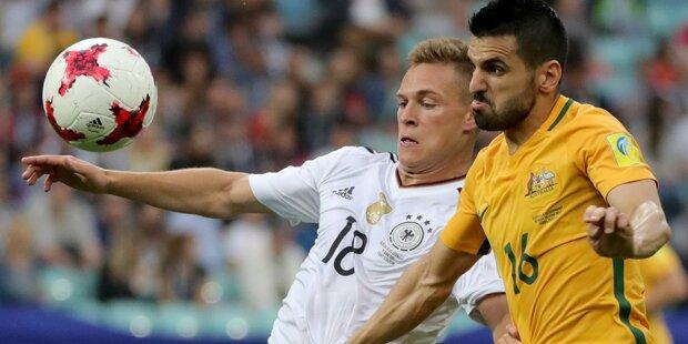 3:2 - DFB-Elf legt Stotterstart hin