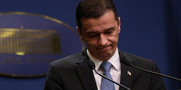 Rumänische Regierung vom Parlament per Misstrauensvotum gestürzt