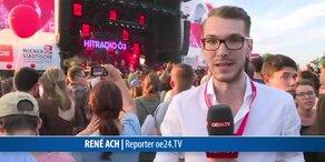 Partystimmung am Donauinselfest