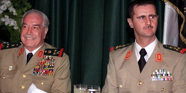 Syrischer Ex-Minister Tlass ist tot