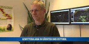 Gewitteralarm in Kärnten und Osttirol