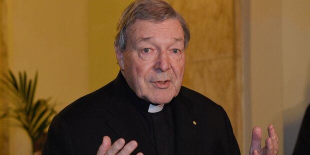 Kindesmissbrauch: Verfahren gegen Vatikan-Finanzchef